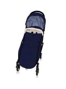 Chancelière & poussette YOYO Babyzen bleue cadre noir 0-4 ans