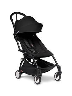 Poussette YOYO² 6 mois-4 ans noire Babyzen : châssis noir & hamac noir. Composez votre pack !