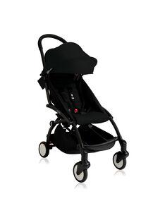 Poussette YOYO+ 6 mois-4 ans noire Babyzen : châssis noir & hamac noir. Composez votre pack !
