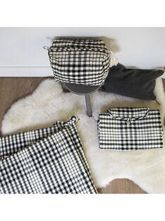 Trousse, matelas, tour de lit carreaux vichy