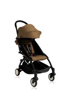 Poussette YOYO+ 6 mois-4 ans toffee Babyzen : châssis noir & hamac toffee. Composez votre pack !