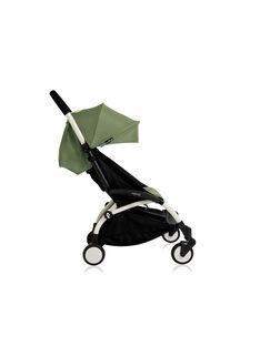 Poussette YOYO+ 6 mois-4 ans peppermint Babyzen : châssis blanc & hamac peppermint. Composez votre pack !