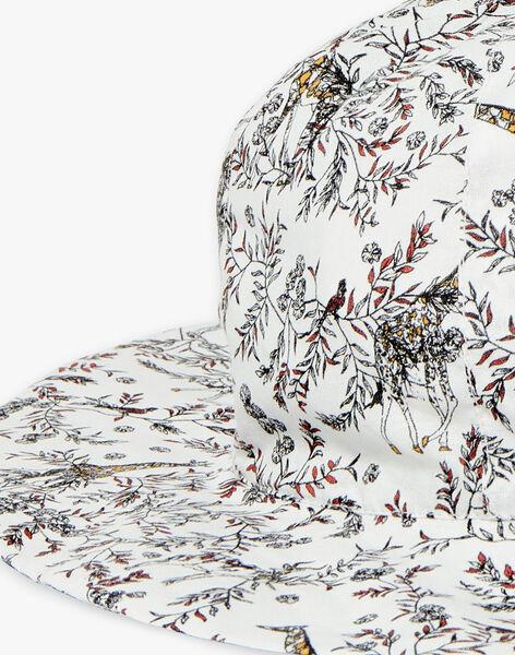 Chapeau imprimé girafe en coton fille CELENIE 21 / 21VU6013N84114