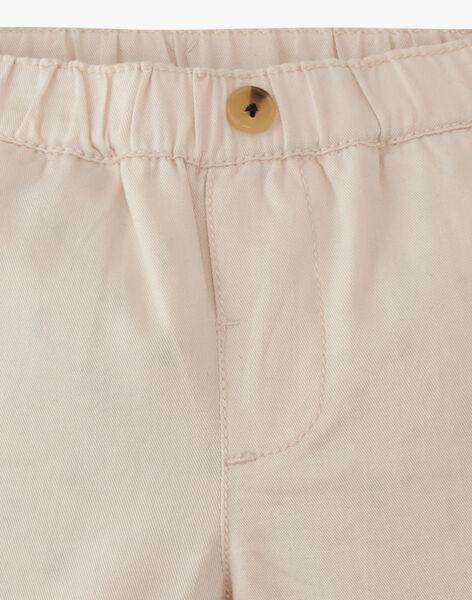 Pantalon style chino sable garçon ANATOLE 20 / 20VV2311N03808
