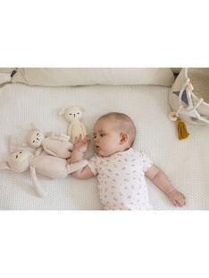 Hochet mouton coton bio Fabelab blanc 17 cm 0-1 an HOCHET MOUTON / 19PJPE005MIP999
