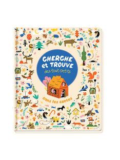 """Livre """"Cherche et trouve des tout-petits : dans les contes"""" Auzou 28x23,5 cm dès 3 ans CH ET TROUV CON / 19PJME014LIB999"""