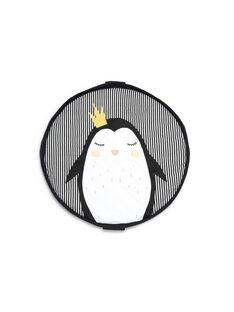 Tapis d'éveil et sac pingouin noir et blanc TAPIS PINGOUIN / 18PJJO002TEV090
