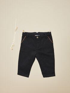 Pantalon en lainage noir garçon   VILFRIED 19 / 19IU2022N03090
