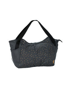 Sac twin triangle gris foncé TWIN BAG GREY / 18PBDP004SCC941