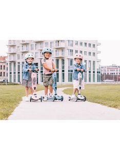 Trottinette 2 en 1 bleu acier TROTI 2EN1 BLEU / 20PJJO010GJOC202