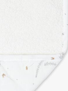 Matelas de voyage blanc à imprimé fleuri PLUME-EL / PTXQ6213N79632