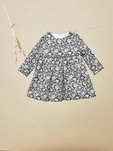 Ensemble robe et bloomer en Liberty bébé fille  VICTORIA 19 / 19IU1916N18090