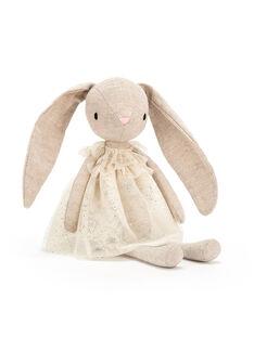 Peluche lapin Jolie Bunny Jellycat crème 30 cm dès la naissance JOLIE BUNNY / 19PJPE001PPE999