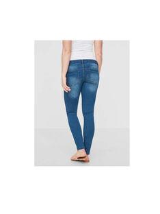 Jeans de grossesse bleu  MLFIFTY SLIM ME / 18IW26C7N44704