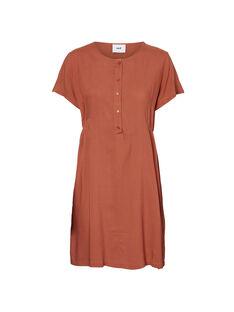 Robe d'allaitement orange MLALDA DRESS / 19VW268FN18408