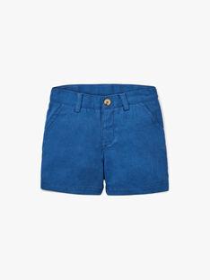 Bermuda chino bleu moyen garçon  ALEXANDRE 20 / 20VU2021N02208
