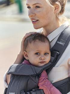 Porte-bébé One Air en mesh gris anthracite PBB ONE AIR ANT / 19PBDP003PBB942