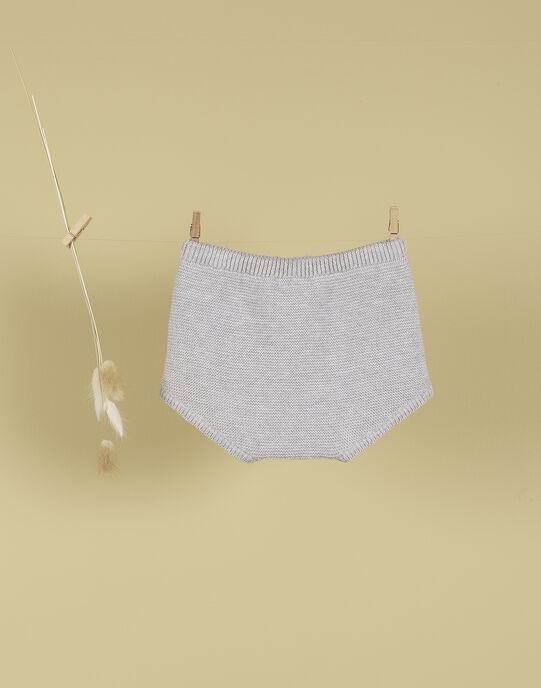 Bloomer tricoté gris clair mixte TANGUI 19 / 19PV2421N25943