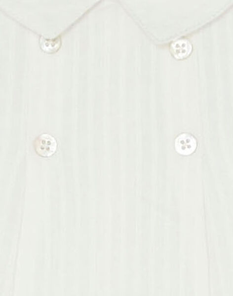 Blouse vanille manche longue garçon  AMBROISE 20 / 20VV2311N0C114