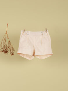 Short rose fille TEMILIE 19 / 19VU1932N02D300