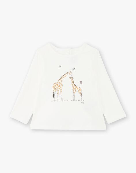 Tee Shirt Manches Longues Vanille COLETTE 21 / 21VU1912N0F114