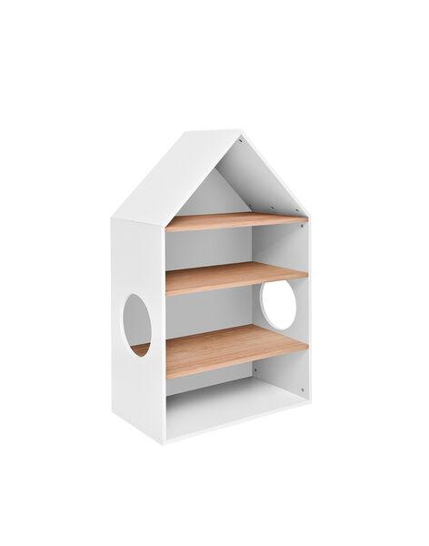 Etagère maison Cocoon Natalys blanche 120x74x40 cm (0-5 ans) ETAG COCOON / 18PCMB001AME999