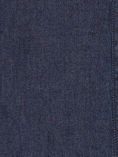 Combinaison bleu foncé en denim fille CELIA 21 / 21VU1911N26P269