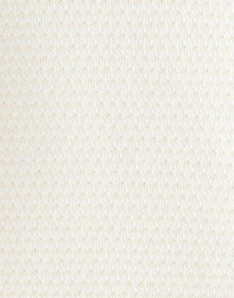 Pull fille vanille tricot fantaisie BETTINA 20 / 20IU19C1N13114