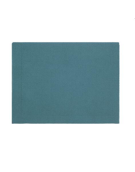 Couverture bou bleu tempete 75x100cm COUV BOU BLEU T / 21PCTE004DEL204