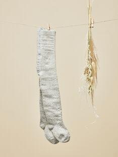 Collants gris chiné bébé fille  VOREA 19 / 19IU6013N46943