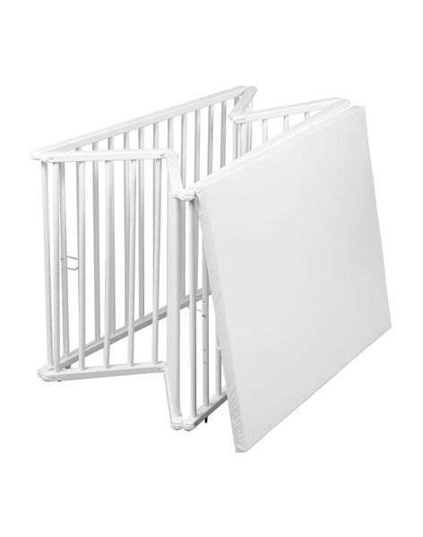 Parc pliable 102x76cm blanc PARC PLIABLE BL / 20PSSE001PRC000