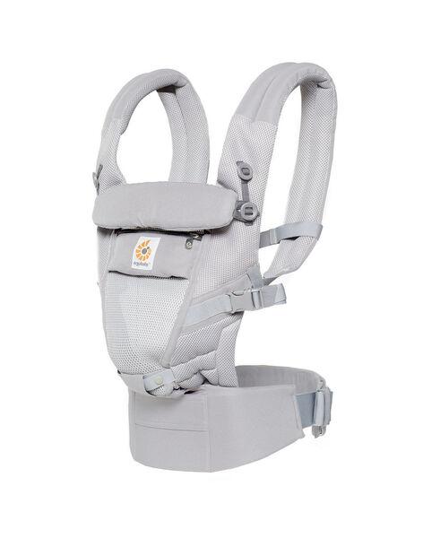 Porte-bébé Adapt Cool Air en mesh ErgoBaby gris perle 0-5 ans ADAPT AIR GRIS / 19PBDP005PBB904