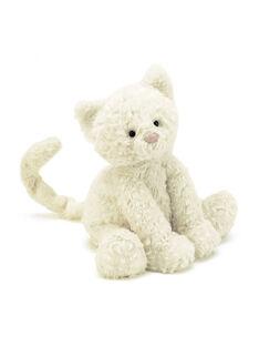 Peluche Kitty chat blanc 23 cm CHAT BLANC FUDD / 12PJPE024MPE000
