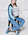 Porte-bébé hoodie Carrier gris HOODIE GRIS / 18PBDP008PBB940