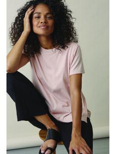 T-shirt de grossesse & d'allaitement coton bio Boob rose BOTSHIRT PINK / 20VW2642N3D301