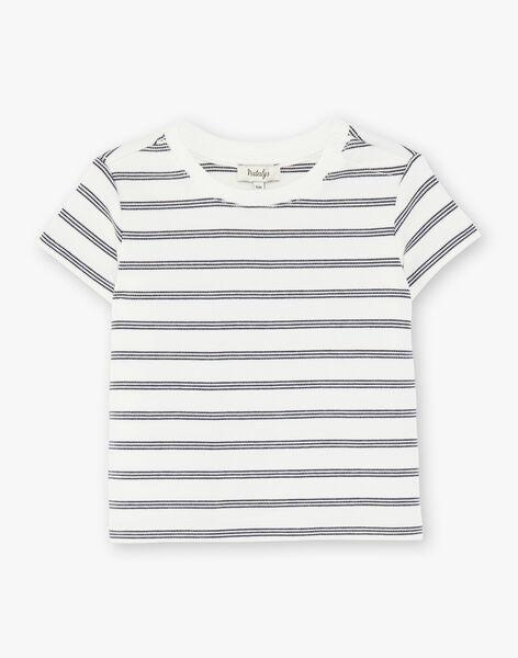 Tee Shirt Manches Courtes Vanille CARL 21 / 21VU2022N0E114