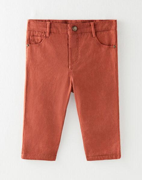 Pantalon coupe droite garçon  BILL 20 / 20IU2052N03408