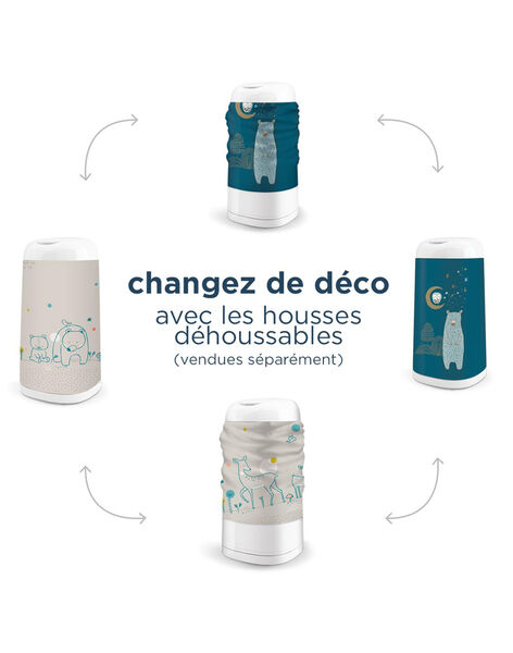 Poubelle Dress Up blanche  POUB DRESS UP / 18PSSO015AHY000