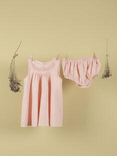 Ensemble robe et bloomer blush fille TULLE 19 / 19VV2271N18D300