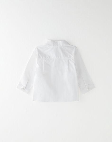 Chemise manche longue vanille  BACH - EL / PTXU2011N0A114