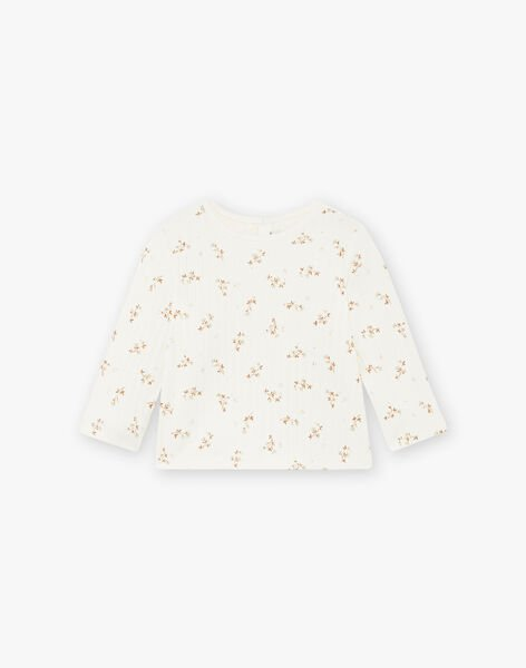 Tee-shirt imprimé fleurs coton biologique DILETTE 21 / 21IU1911N0F114