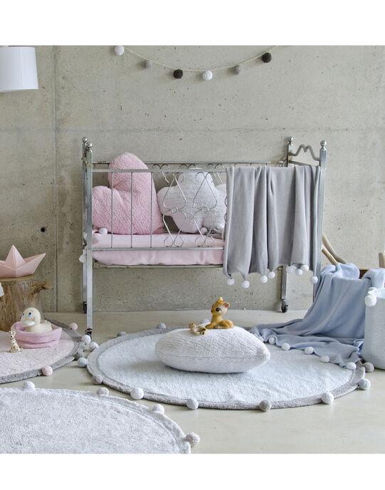 Couverture Baby Bubbly grise 100x120 cm  COUV BUBBLY GR / 18PCTE006DEL940