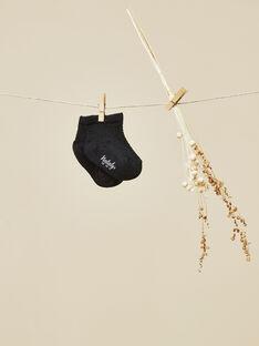 Chaussettes noires garçon VALOTON 19 / 19IV6911N47090