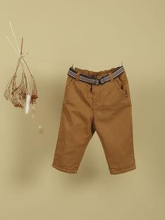Pantalon caramel garçon TIBET 19 / 19VU2021N03I806