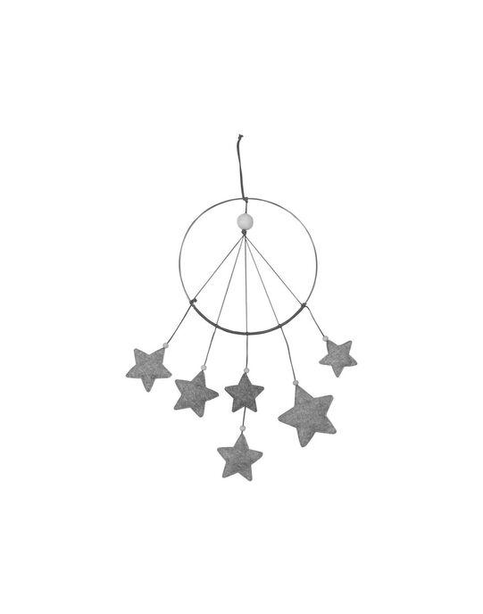 Mobile attrape-rêves Nuit Étoilée Filibabba gris ATTR REVE GRIS / 19PJJO002MOB999