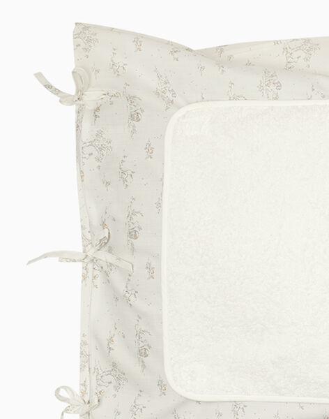 Housse de matelas à langer vanille et imprimés mixte TAMATELANGE 19 / 19PV5921N75114