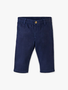 Pantalon chino marine garçon  ALBAN 20 / 20VU2015N03070