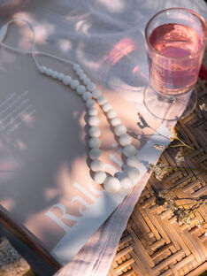 Collier louise blanc COL LOUISE BLAN / 20PCTE006BIJ000