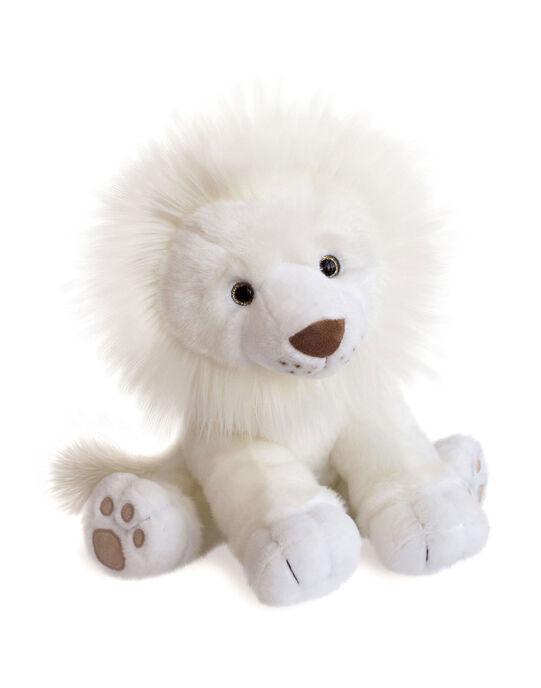 Peluche Lion des neiges 40 cm Histoire d'Ours blanc dès la naissance LION NEIGES 40 / 19PJPE007MPE999