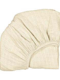 Drap-housse coton Charlie Crane beige 68x45x8 cm DRA HOUS MILK / 19PCTE009DRA999